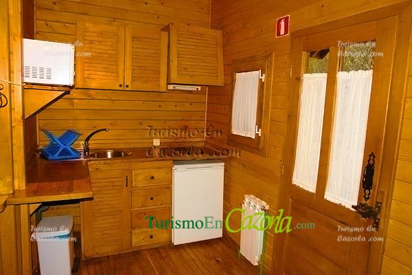 Caba as de madera los llanos de arance casa rural en coto - Fotos de bungalows de madera ...