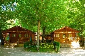Caba as de madera los llanos de arance casa rural en coto - Casa rural de madera ...