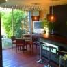 Cafetería jardín del Hotel Fuentenueva