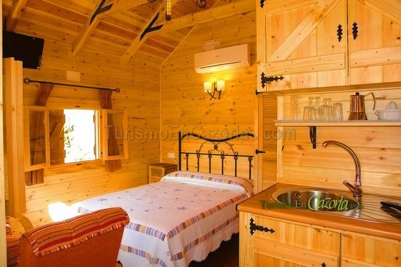 Caba as de madera los pinos fotos arroyo fr o la iruela ja n casas rurales arroyo fr o - Cabanas de madera los pinos ...