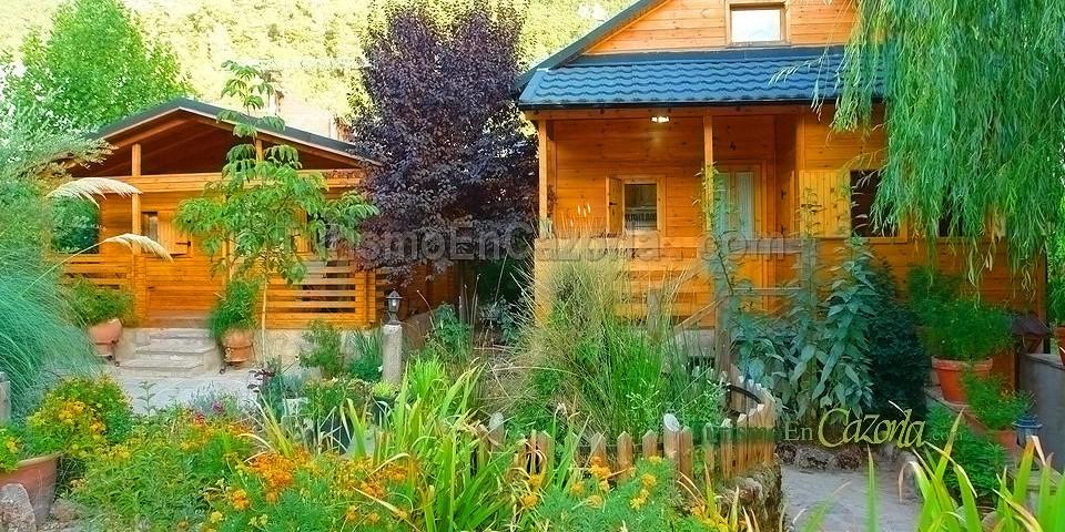 Caba as de madera los pinos casa rural en arroyo fr o la iruela ja n - Cabanas de madera los pinos ...